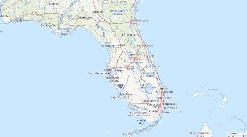 Seven universities in Florida